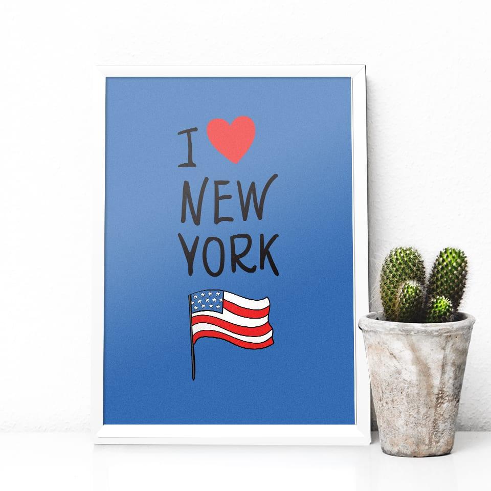 Quadro I Love New York